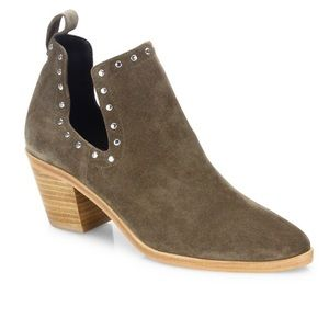 Rebecca Minkoff Lana Suede Ankle Booties 6.5